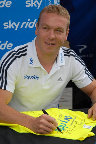 Chris Hoy. (Photo / McTumshie)