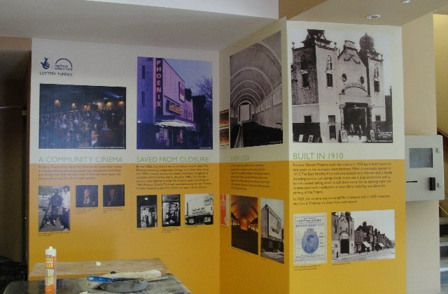 A new foyer exhibition outlining the Phoenix's history.