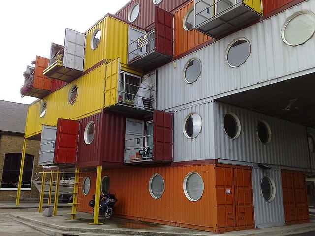 Container City by FairlyBuoyant in the Londonist Flickr pool.