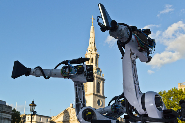 The robots plot to take out St Martin's-in-the-Field