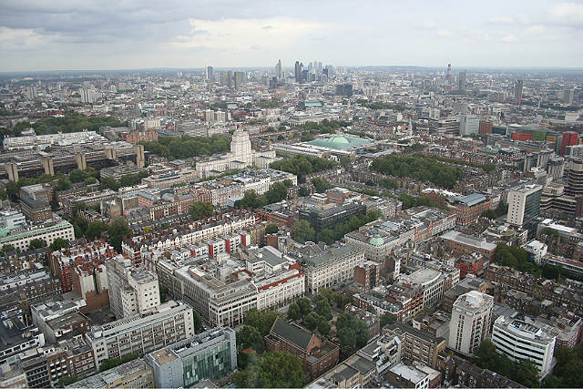 Pretty much unbeatable view of London from the BT Tower. Photo / Frank Pickard