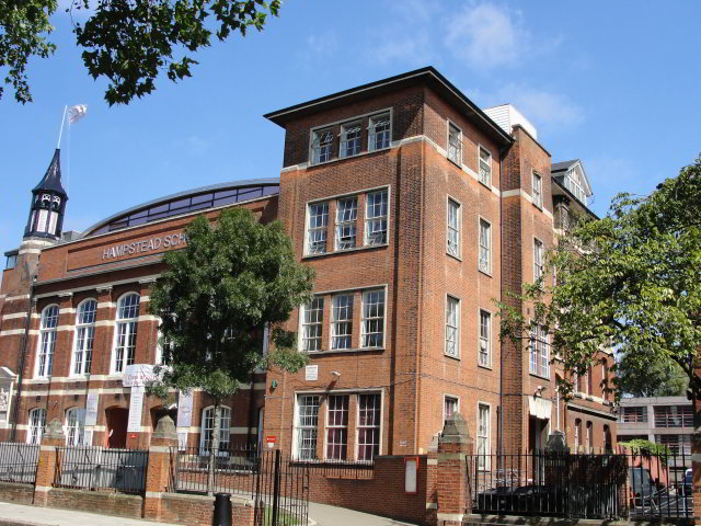 """Like any school, Glenard Oak had a complex geography."" p.241, Ch 11 It's thought that Zadie Smith modelled Glenard Oak on Hampstead School, where she went"