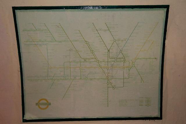 Contemporary tube map