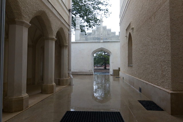 The main entranceway.