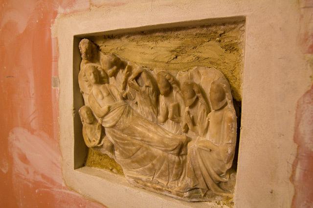 Roman relief.