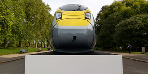 In Pictures: New Eurostar Train At Albert Memorial