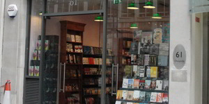 Biblio-Text: Daunt Books Cheapside