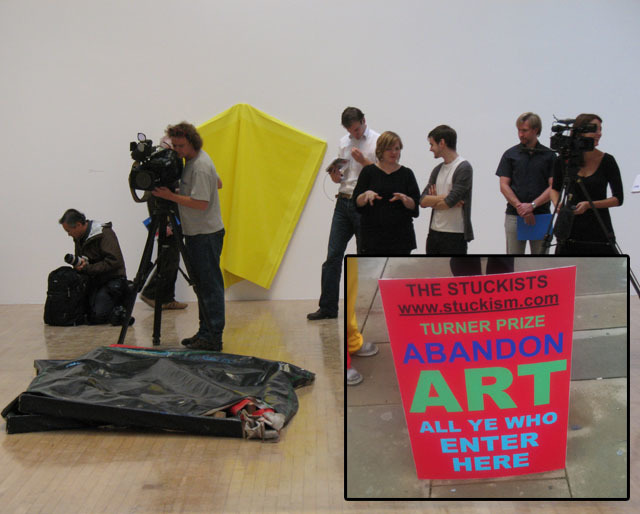 The Turner Prize: Controversial.