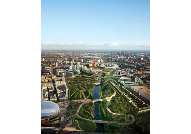 New Images Of Olympic Park Revealed