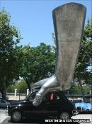 Giant Hand For Park Lane