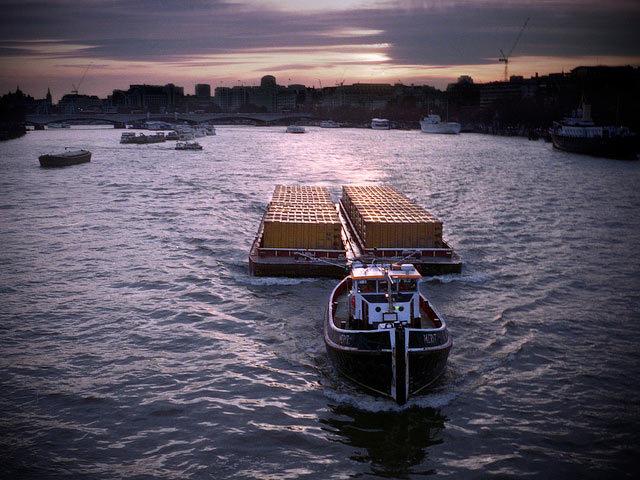 Judges commendation: Thames Tug Boat by Mike Hewson