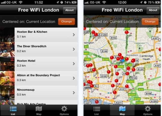 Free Wifi In London: Londonist App Launches