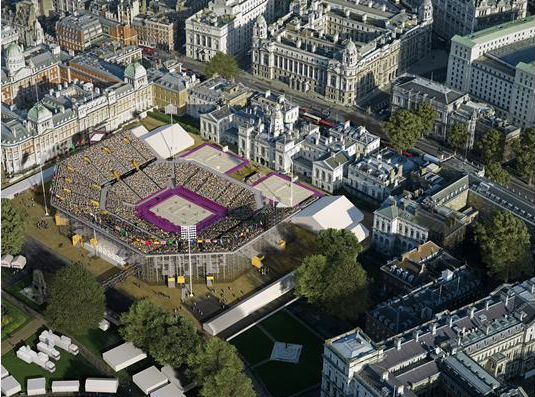 Design For 2012 Beach Volleyball Unveiled