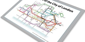 Alternative Tube Maps: Pubs Of The City Of London
