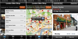 London Cycle Shop App Launches