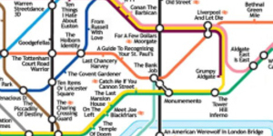 Alternative Tube Maps: London Movies
