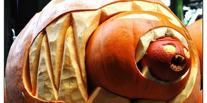 Photo of the Day: Cannibal Pumpkin