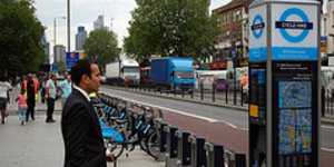 Boris Bikes Head East