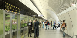 Crossrail: New Station Designs Revealed