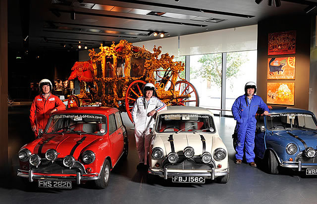 Mini Coopers Replace Lord Mayor 39 S Coach At Museum Of