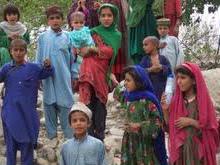 Afghan children.