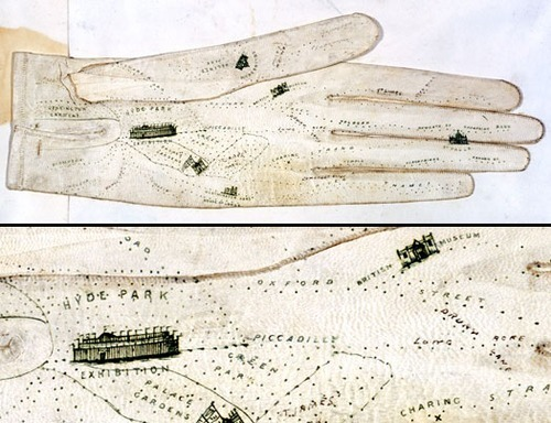 Alternative Maps: London As A Glove
