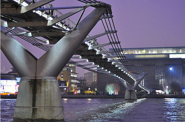 Millennium Bridge Needs More Repair Work