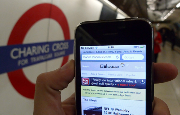 Wifi For 120 Tube Stations By 2012