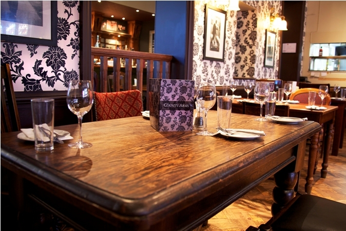 Dining Beyond Zone 1: The County Arms, Wandsworth