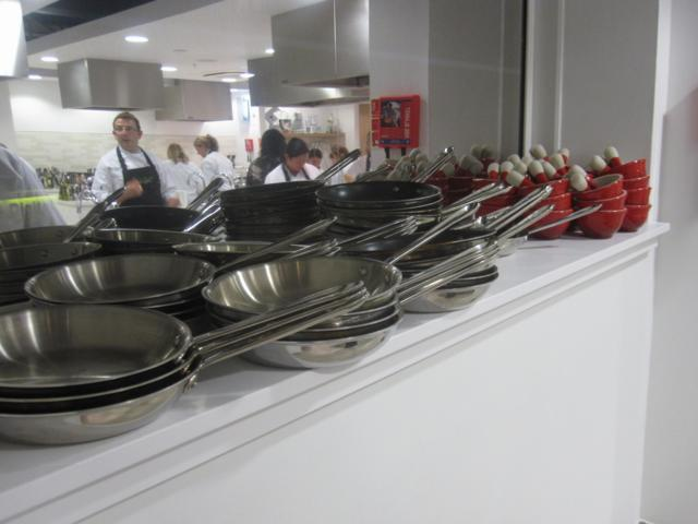 The Waitrose Cookery School opened on November 8.