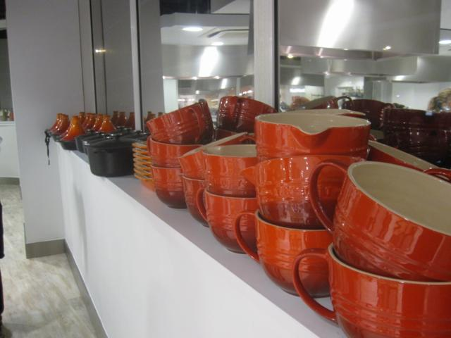 More Le Creuset than your average wedding list.