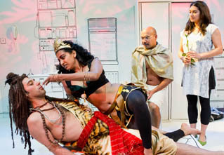 Theatre Review: Gandhi and Coconuts @ Arcola Theatre