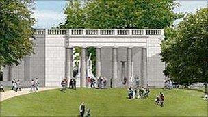 Bomber Command Memorial Threatens Trees