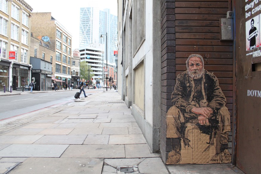 Street Art: Take Home A Homeless Person