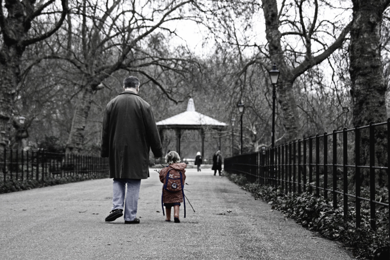 An evocative shot taken in Battersea Park