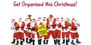 Santa's Lap: RMT Christmas Cards