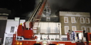 Woman Dies In Fire Near Station With Removed Engine