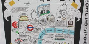Hand-Drawn Maps: Selected Loos Of London
