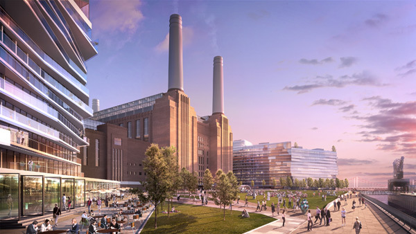Battersea Power Station Plan Approved By Mayor