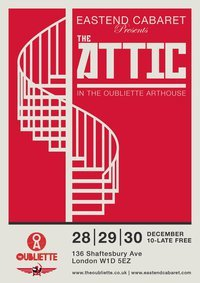 Last Minute Listing: The Attic @ The Oubliette Arthouse