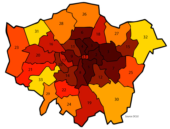 Mapped: How The Cuts Will Hit London's Councils