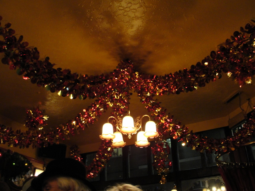 Christmas decorations in the Lord Clyde