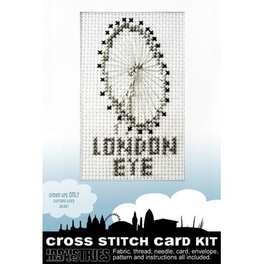 Santa's Lap: Cross Stitch London Eye