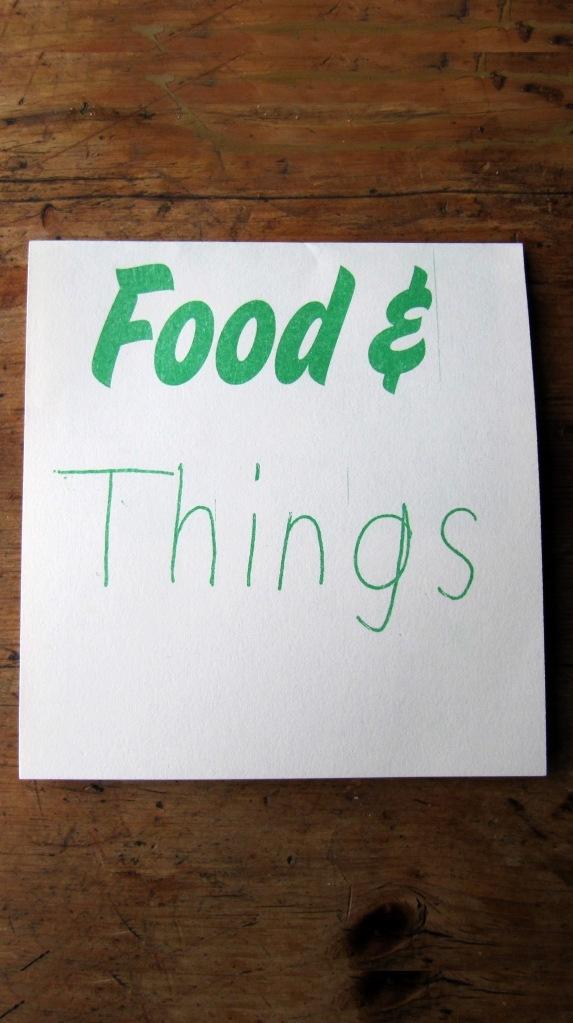 Last Minute Listing: Food & Things in Peckham