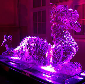Preview: London Ice Sculpting Festival 13-15 Jan at Canary Wharf