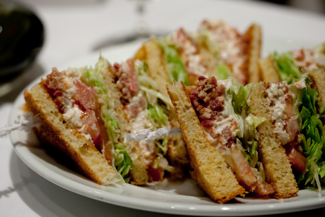 Sandwichist – Lobster Club Sandwich at Sotheby's Café