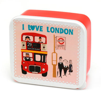 Santa's Lap: I Love London Lunchbox