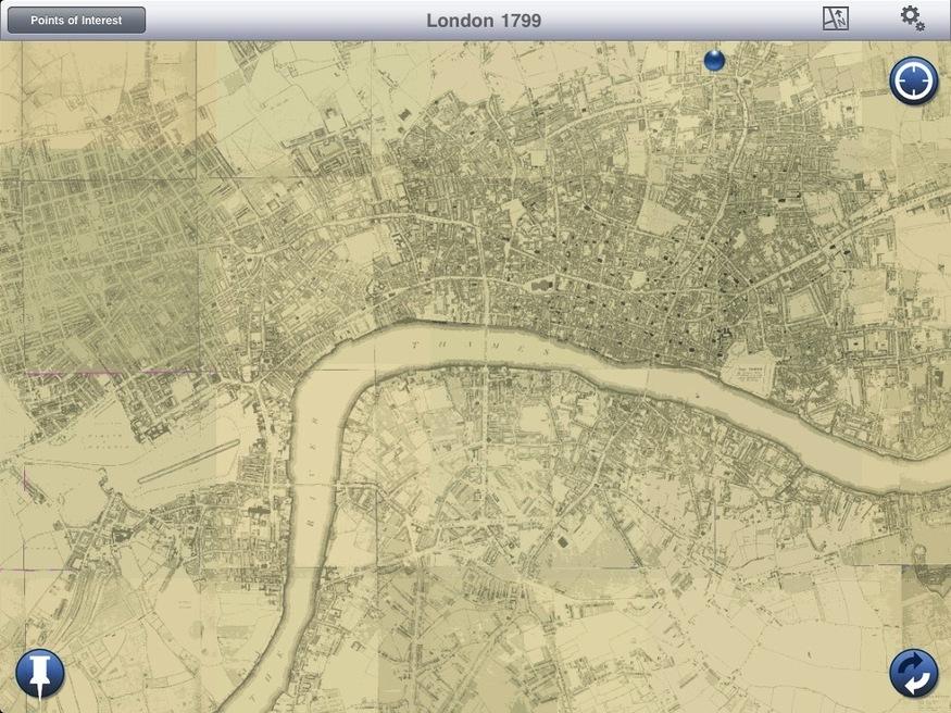 London in 1799