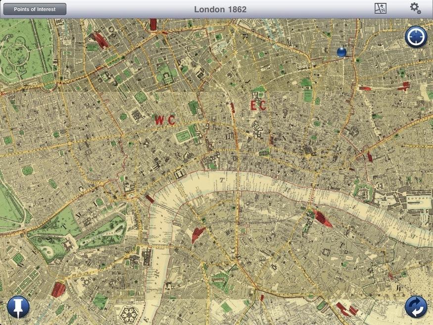 London in 1862