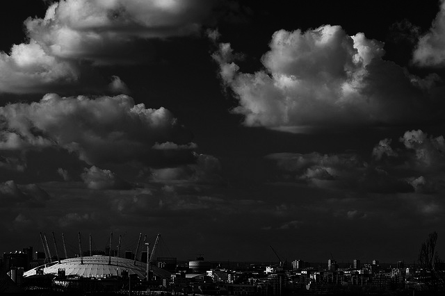 Greenwich Peninsula Skyline